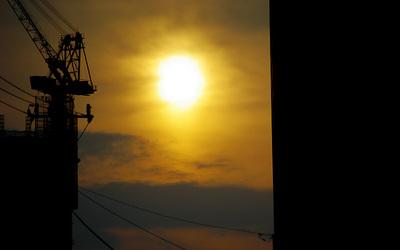 夕日の写真1